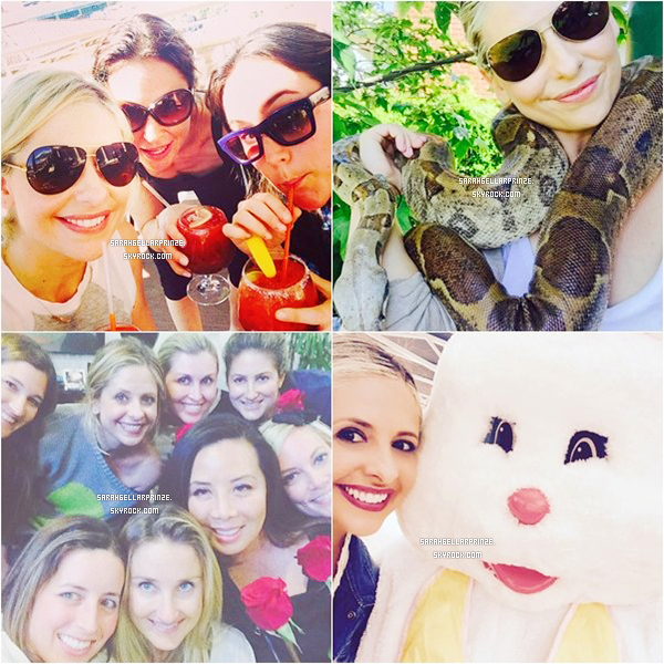 - Découvrez de nouvelles photos personnelles de Sarah postées sur les réseaux sociaux -