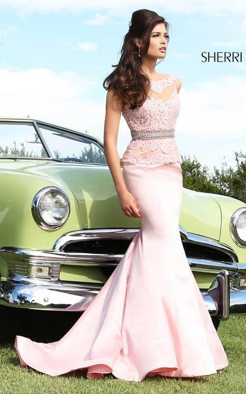 Sherri Hill 32033 Lace Prom Dress 2015 - Fashion Clothes Trends 2014