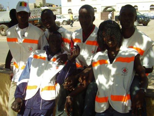 volontaire de la croix rouge bargny
