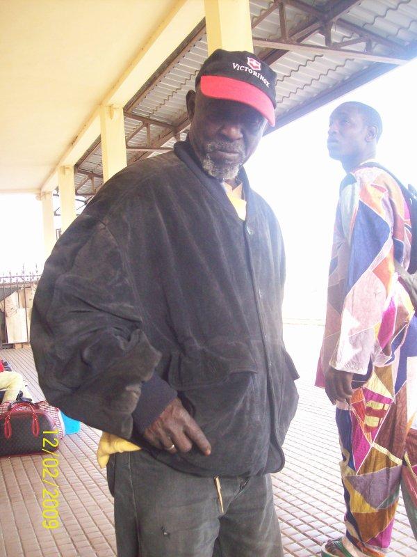 papa sene veteran de la croix rouge de rufisque