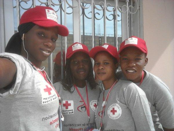 Campagne de vaccination contre la #rougeole et la #rubéole 20/au 26/11/2017 a Bargny  je vous vaccine  je me vaccin #croix rouge Bargny l'équipe des volontaires de Bargny,