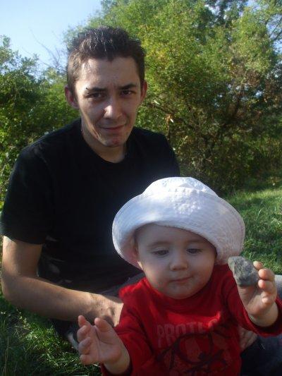 Ethan et son papa