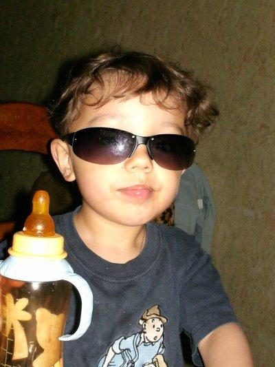 Aaron mon petit frere de 5 ans