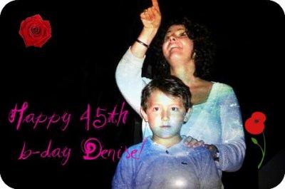 Happy 45th birthday Denise Jonas!