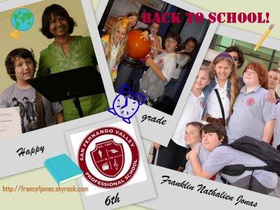 Back to School- September 12, 2011