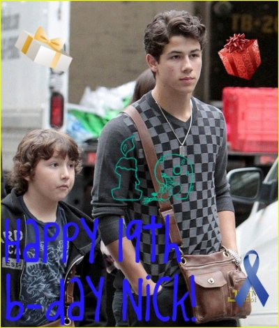 Happy birthday Nick Jonas!