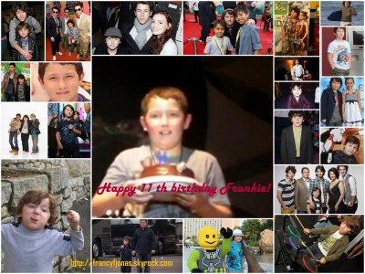 HAPPY 11TH BIRTHDAY FRANKIE JONAS!