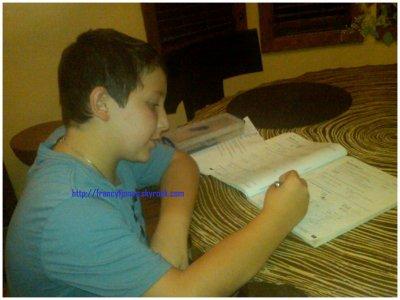Facebook- Frankie and his homeworks