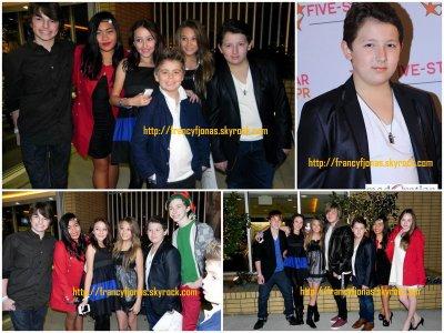 Frankie Jonas to Five Star PR Holiday Party- December 10, 2011