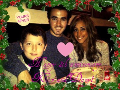 Happy 2th anniversary Kevin and Danielle!