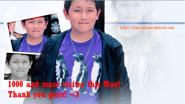 Frankie Jonas Blog- 1000 and more visites!