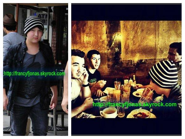 Frankie Jonas Enjoy a Family Lunch in Hollywood- September 5, 2012