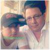 Twitter-  Frankie Jonas breakfast with his parents