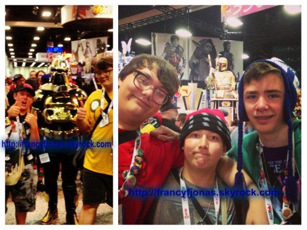 Twitter- Frankie Jonas to the Comic Con 2013