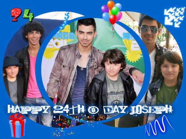 Happy 24th birthday Joseph!