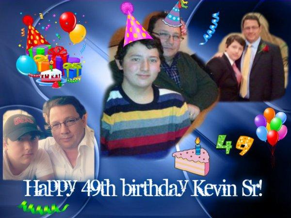 Happy 49th birthday Kevin Sr!