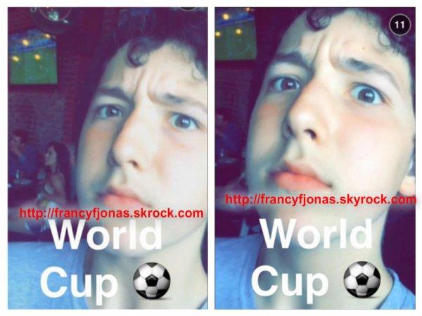 Twitter- Frankie Jonas World Cup