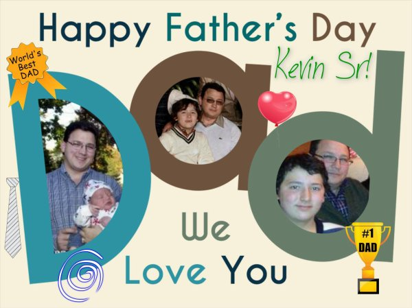 Happy Father Day 2014!