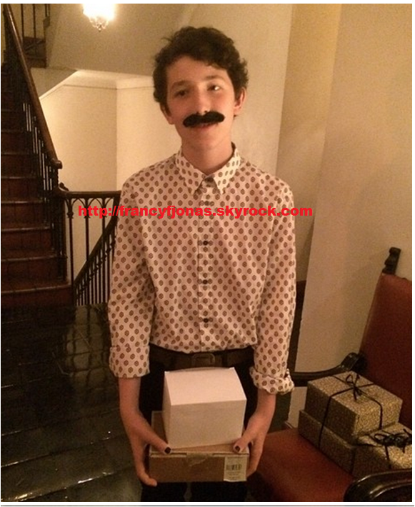 "Twitter- Frankie Jonas is Zero ""The Grand Budapest"""