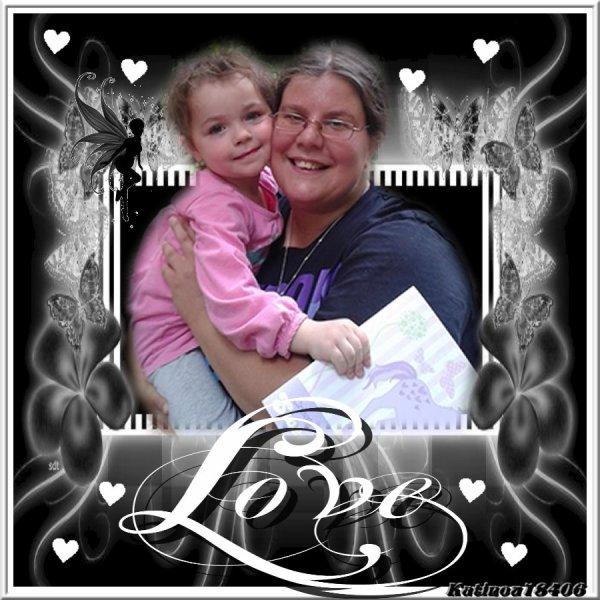 ma cherie et ma fille