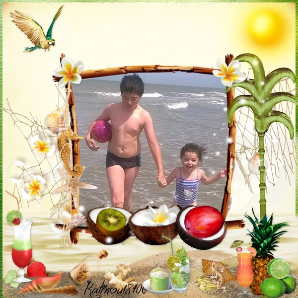 mon fils tristan et ma fille alicia