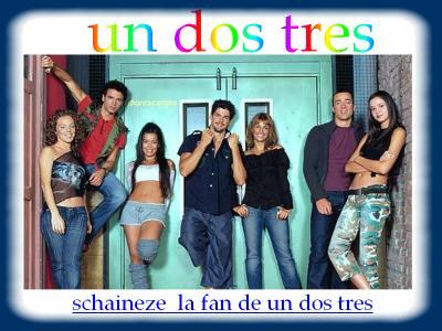 Schaineze La Fans De Un,Dos,Très