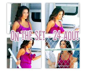 *  ____+ posté le 25 aout 2011________Lateste News + Spoiler + On The Set________Création__ *