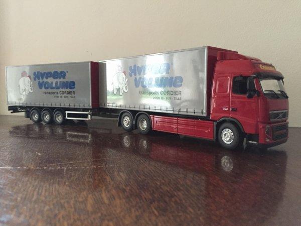 Volvo FH Transport Cordier Hyper Volume
