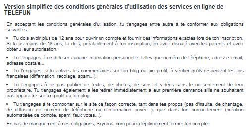 Les Conditions Générales d'Utilisation : trop souvent négligé par les utilisateurs et leur entourage.