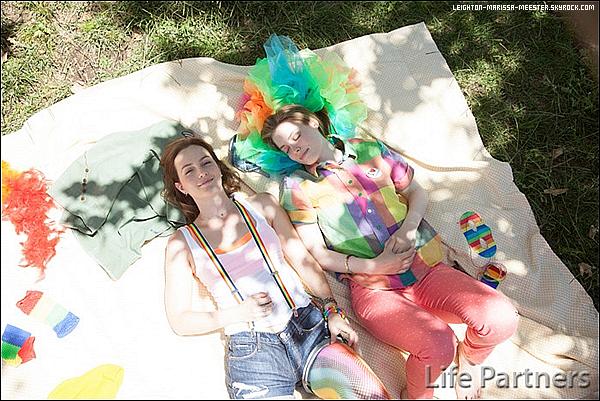 "STILLS de Leighton dans le film ""LIFE PARTNER'S"" ."