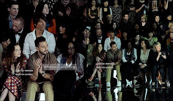 _    12/02/11.Lei' M. flânant au défilé Marc Jacobs avec sa tenue top tendance. ( J'deconne rassurez-vous. ) La sortie FR de «The Roommate» devrait être reculer pour que le film ne sorte pas en meme temps que «Transformers 3».   _