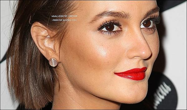 _  28/12/12   _Leighton M.  à la soirée de lancement de la nouvelle collection de « Target + Leiman Marcus ».___ Zoom « Make-Up » + tenue de Lei'._.Tenue à jeter ou à garder ?__._    _