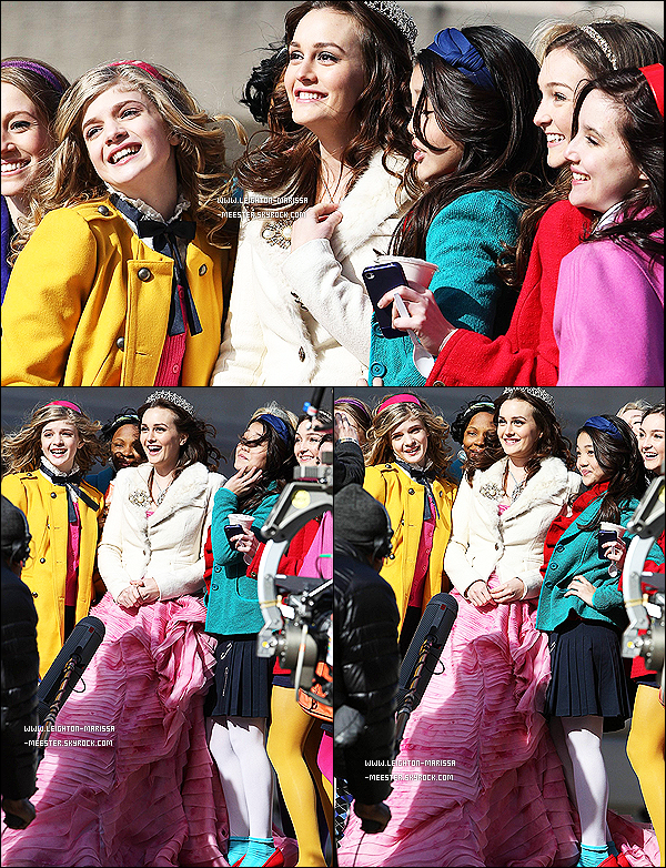 Rattrapage des candids de Leighton Meester, du mois de Février 2012 ( Première partie ) !