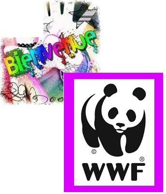 mon blog Je soutien WWF et mes amies