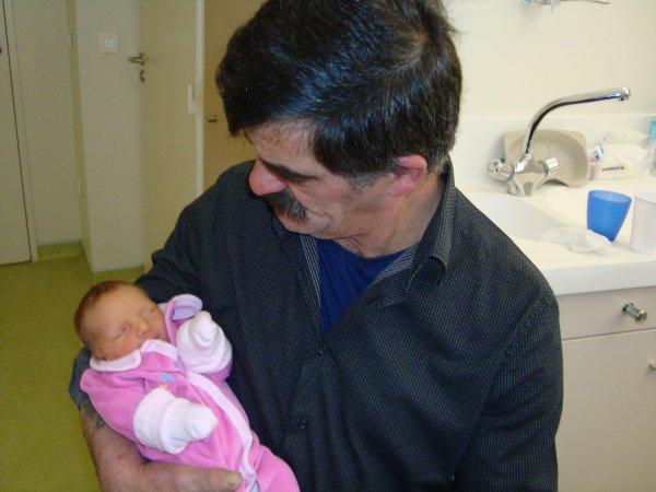 papy et sa petite fille lou