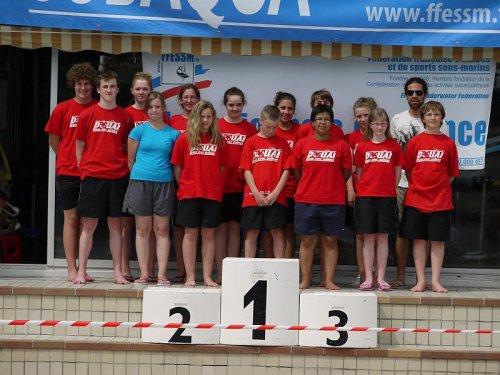 Résultat de mes compétitions de nage avec palmes au championnat de France !