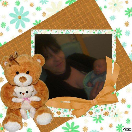 moi et mon petit fils