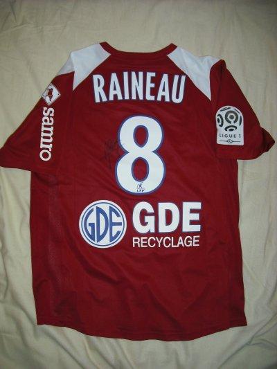 Maillot de Alexandre Raineau Bordeaux-Caen le 9/8/2008