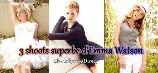 Rubrique 6 : Photoshoots >> Emma Watson