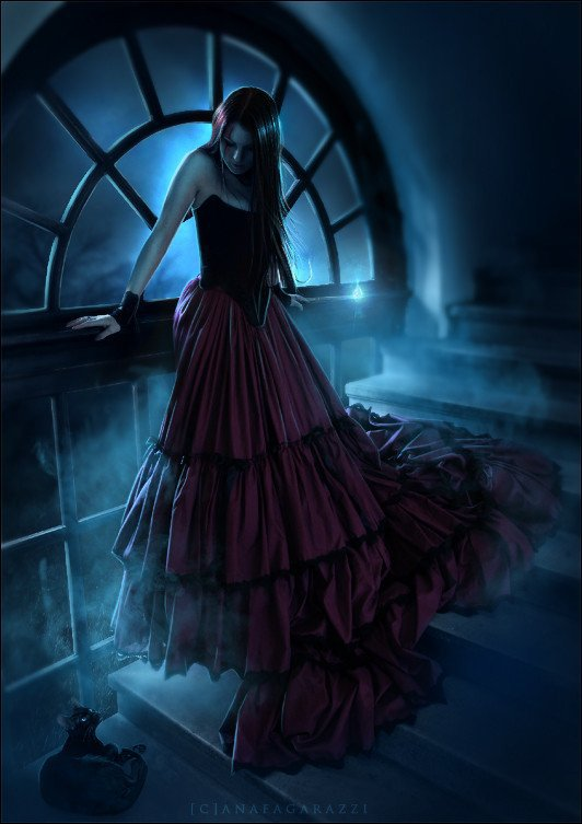 belle image gothique