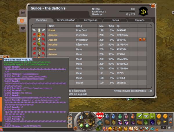 Guilde UP 100  :D