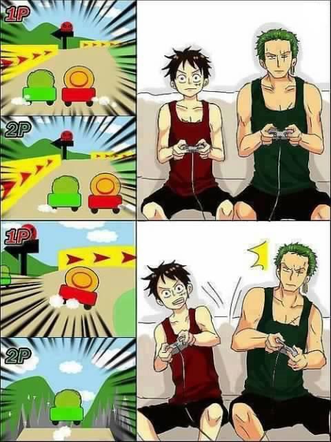 Luffy & Zoro