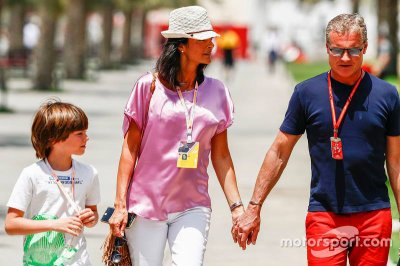 Dayton, Karen Minier, David Coulthard à Bahrein