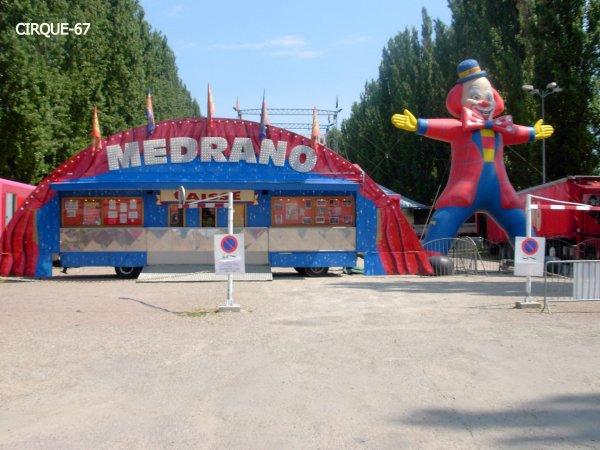 Cirque MEDRANO - SAVERNE 2010