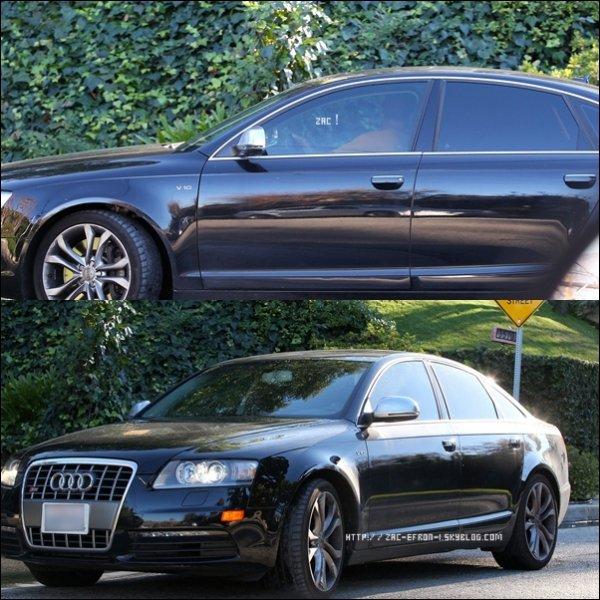 Une Audi Noire( LA VOITURE DE ZAC ! ) a était aperçu le 4 Janvier devant la Maison de Vanessa !