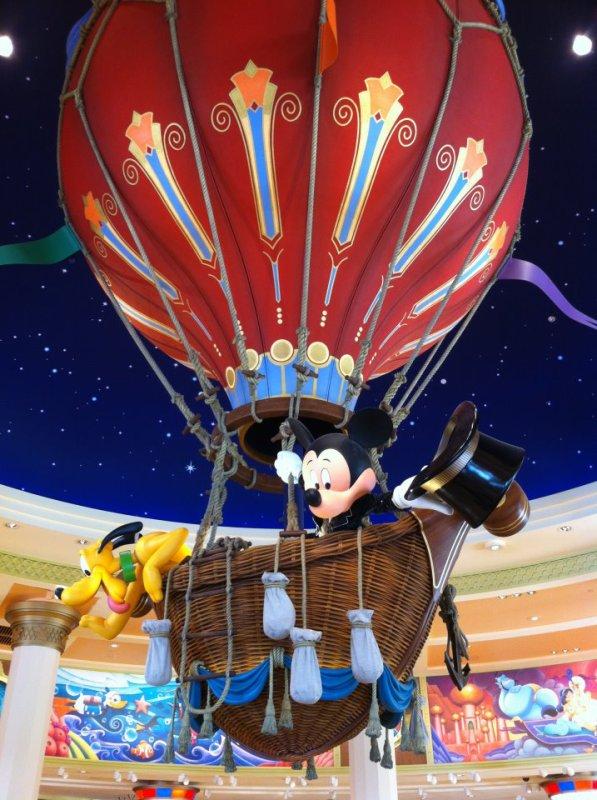 Nouvelle boutique au Disney Village