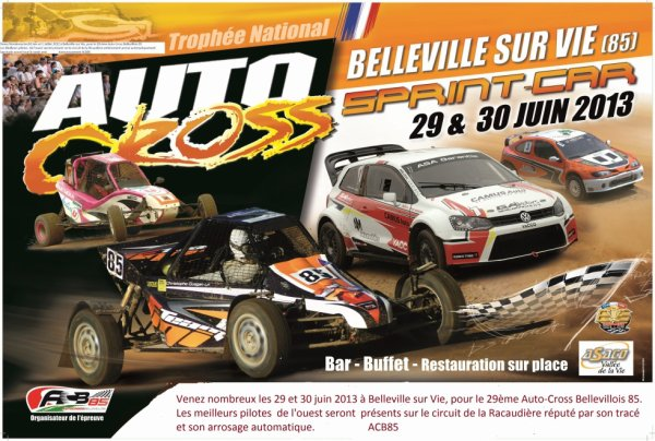 Trophé National Autocross et Sprint Car Belleville sur Vie (85)