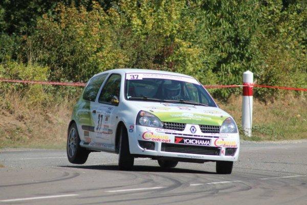 Thierry LANDAIS et Christopher TOUVRON Rallye de Beaulieu Sous la Roche (85)    les 31 août et 1er septembre 2013