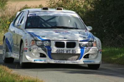 Bernard MORILLEAU au Rallye des Côtes de Lumière de Beaulieu sous la Roche les 31 août et 1er septembre 2013