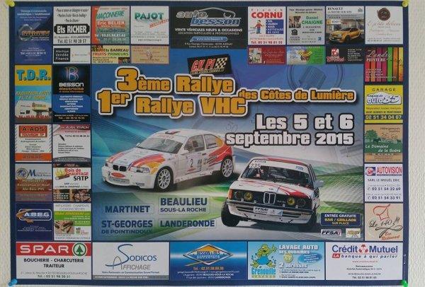 3ème Rallye des Côtes de Lumière à Beaulieu sous la Roche